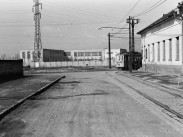 1958, Pesterzsébet, Baross utca a Hátár út felé nézve
