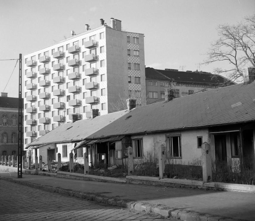 1978, Tűzoltó utca az Mihálkovics utcánál, 9. kerület