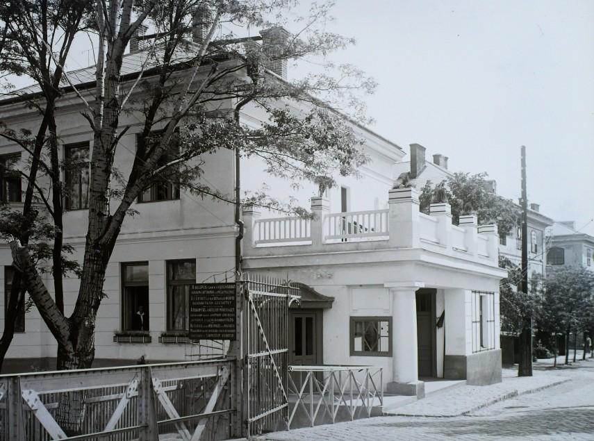1924, Az Óbudai Hajógyár kapuja, 3. kerület