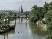 1963, a Hajógyári-sziget emelőhídja, azaz a Remmel-híd, 3. kerület
