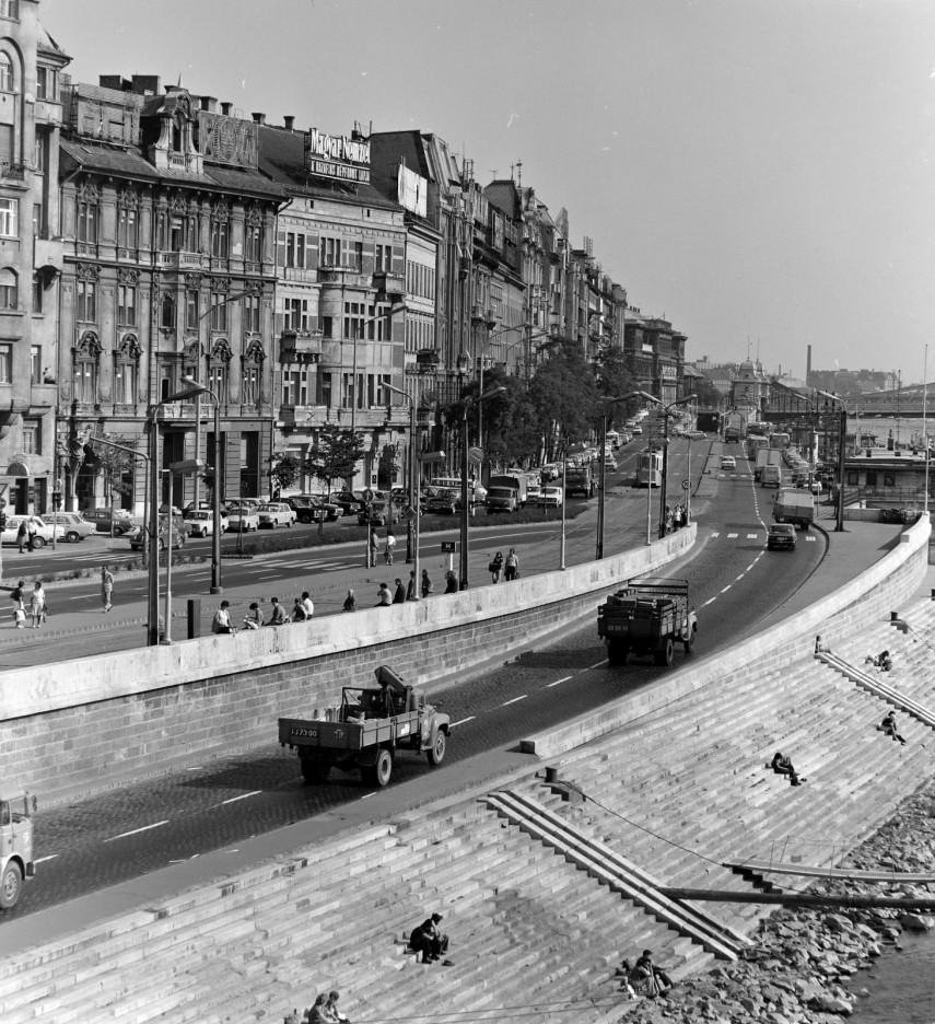 1975, Belgrád rakpart, 5. kerület
