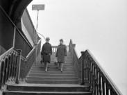 1966, Margitsziget  a gyalogos átjáró, 13. kerület