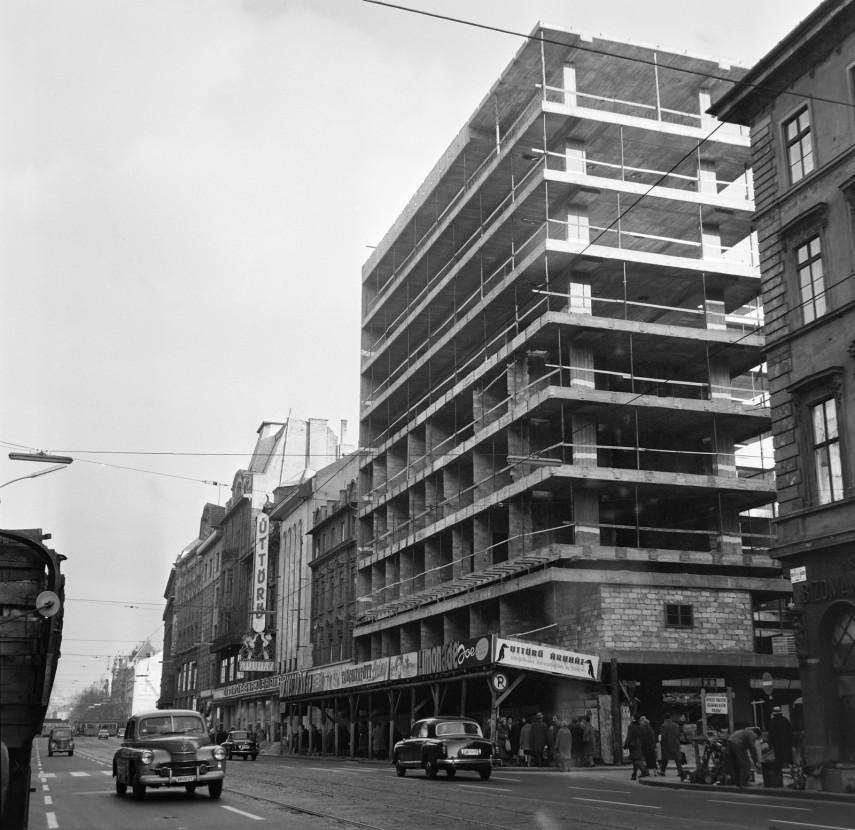 1965, Kossuth Lajos utca, 5. kerület
