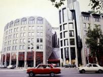 1990, Bajcsy-Zsilinszky út a József Attila utcánál, 5. kerület