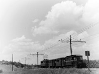 1956, HÉV a Kőérberki útnál, 11. kerület