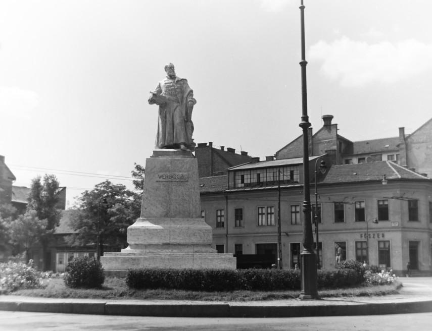 1956, Horváth Mihály tér, 8. kerület
