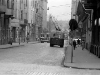 1978, Csanády utca a Váci út felé nézve, 13. kerület