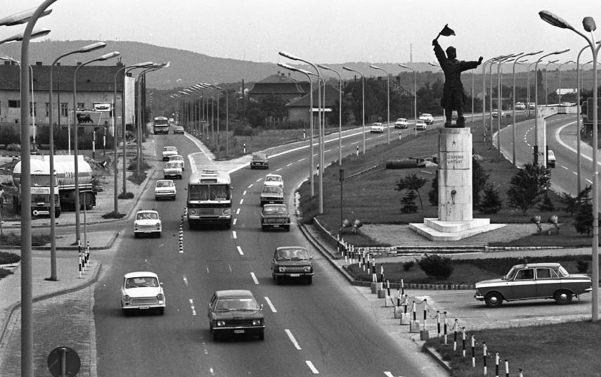 M1-M7 közös szakasza a Balatoni útnál, 11. kerület