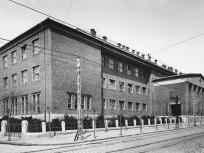 1940, Ferenc József (Tanoda) tér, az ÚJPESTI MAGYAR KIRÁLYI ÁLLAMI FŐGIMNÁZIUM, Újpest város, 1950-től 4. kerület
