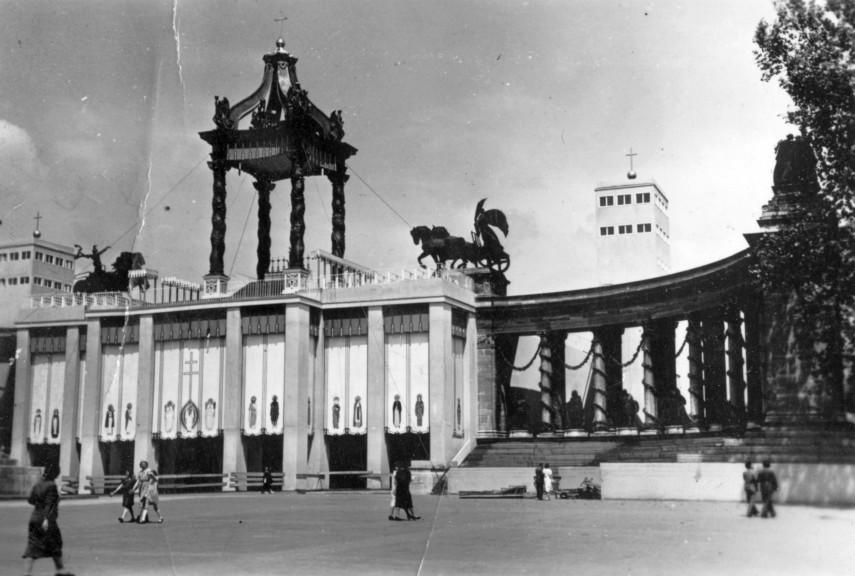 1938, Május, Hősök tere, 14. kerület