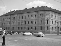 1964, Róbert Károly körút és a Lehel út kereszteződés, 13. kerület