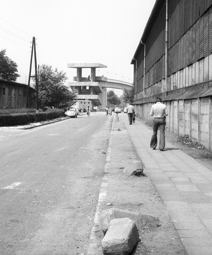 1976, Meder utca, szemben a Népszigetre vezető híd