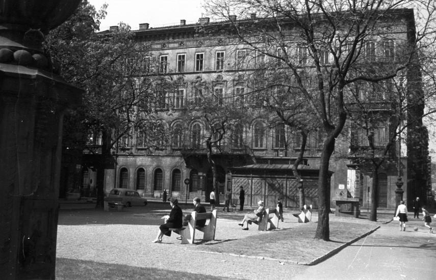 1961, Szabadság tér, 5. kerület
