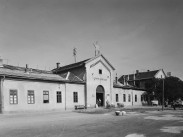 1951. Fiumei út, a Józsefvárosi pályaudvar, 8. kerület