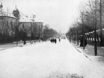 1909, Zárda (Rómer Flóris) utca a Szemlőhegy utca felől nézve, 2. kerület