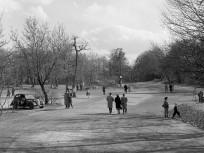 1961, az Erzsébet kilátó út torkolata a Jánoshegyi útnál, 12. kerület