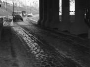1967, aluljáró a Budapest - Szob vasútvonalnál. 4. és 15. kerület