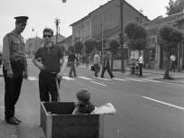 1971, Vörös Hadsereg útja (Üllői út) a Baross utcai villamosmegállónál, 18. kerület