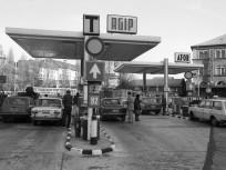 1983, Baross tér, Keleti pályaudvar indulási oldal, 8. kerület