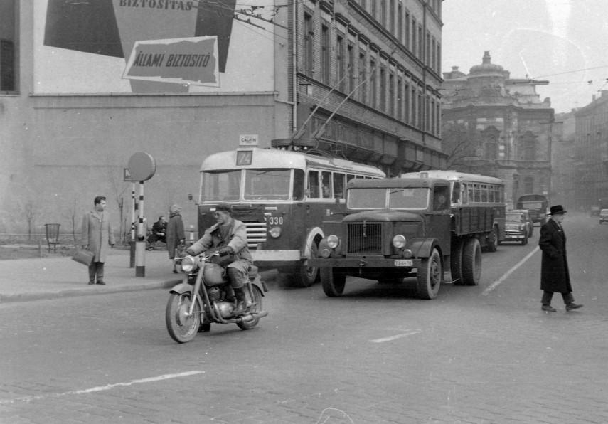 1963, Calvin (Kálvin) tér, 8. kerület