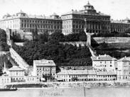 1875 táján, Széchenyi út (Lánchíd utca), 1. kerület