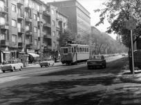 1975, Böszörményi út a Joliot-Curie (Királyhágó) térnél, 12. kerület