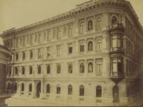 1880-as évek, Zöldfa (Veres Pálné) utca a Borz (Nyáry Pál) utcánál, 5. kerület