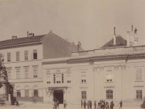 1890 után, Szentháromság tér, 1.kerület