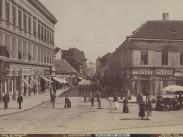 1895 táján, Soroksári út (Ráday utca) a Calvin (Kálvin) tér felől, 9. kerület