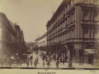 1894-táján, Kecskeméti utca a Calvin (Kálvin tér) felől, 4. (1950-től 5.) kerület