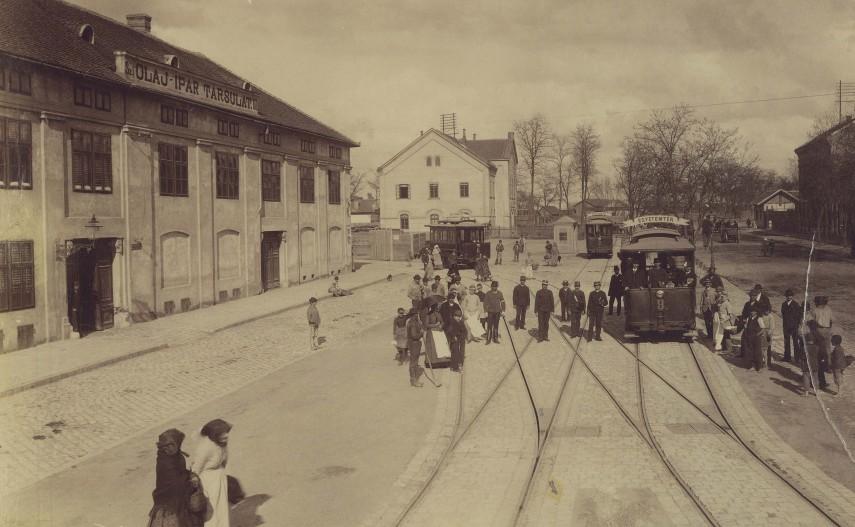 1890 táján Kőbányai út (Baross utca), 8. kerület