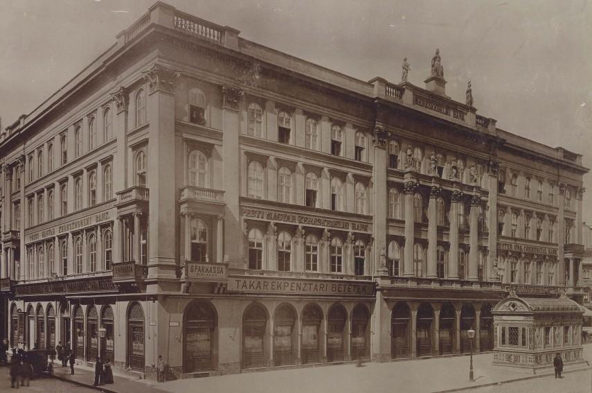 1896 táján, Gizella (Vörösmarty) tér, 4. (1950-től 5.) kerület