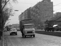 1976, Váci út a Róbert Károly körút felé nézve, 13. kerület