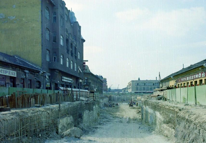 1987, Újpest, Árpád út, 4. kerület