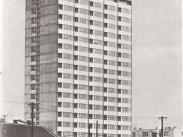 1969, a Kacsóh Pongrác úti lakótelep toronyháza
