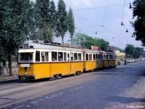 1977, Gubacsi út a Koppány utcánál, 9. kerület