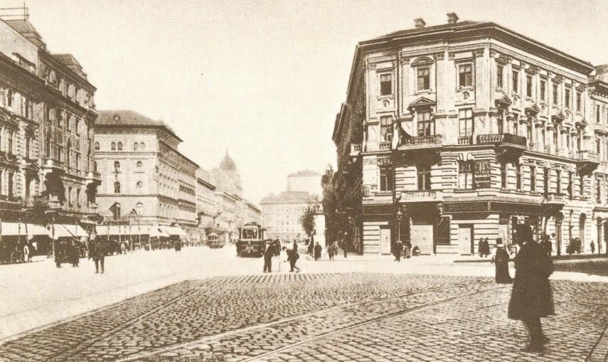 1900-as évek eleje, Váci körút (Bajcsy-Zsilinszky út), 4. (1950-től 5.) kerület, és 6. kerület