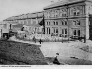 1874 táján, a Pesti indóház a Váci út felől, 6. kerület