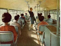1960-as évek eleje, Ikarus 66-os belső