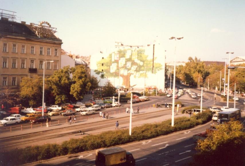 1980-as évek közepe, Kálvin tér, 5. kerület