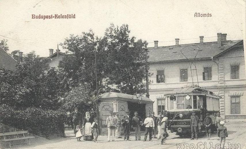 1900-as évek, Etele tér, a Kelenföldi vasútállomás, 11. kerület