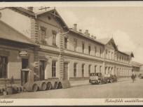 1930 táján, Etele tér, a Kelenföldi vasútállomás, 11. kerület