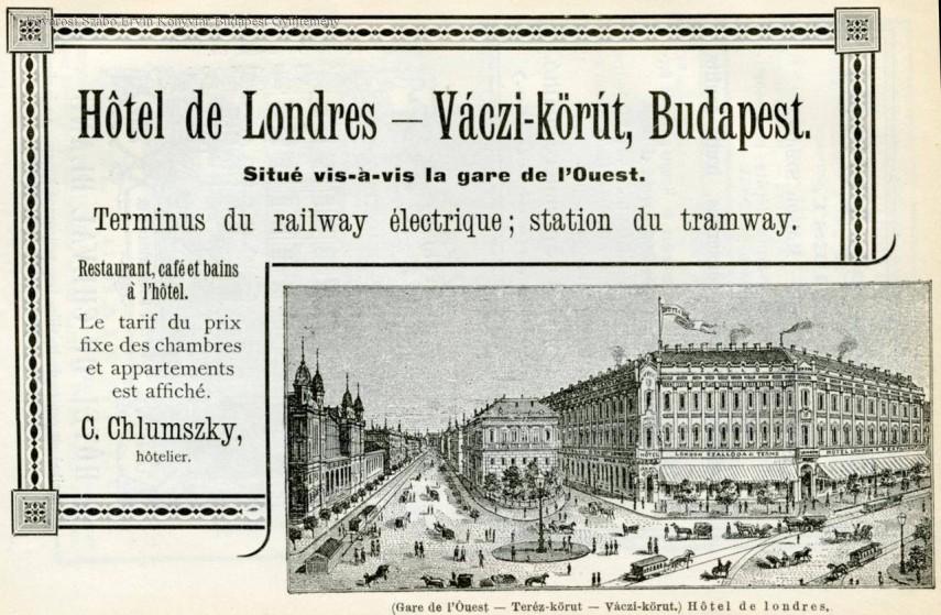 1890 táján, Váci körút (Bajcsy-Zsilinszky út), 6. kerület