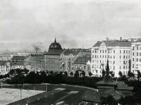 1910-es évek, Névtelen terület, (1929-től Széll Kálmán tér), 2. és 1. kerület