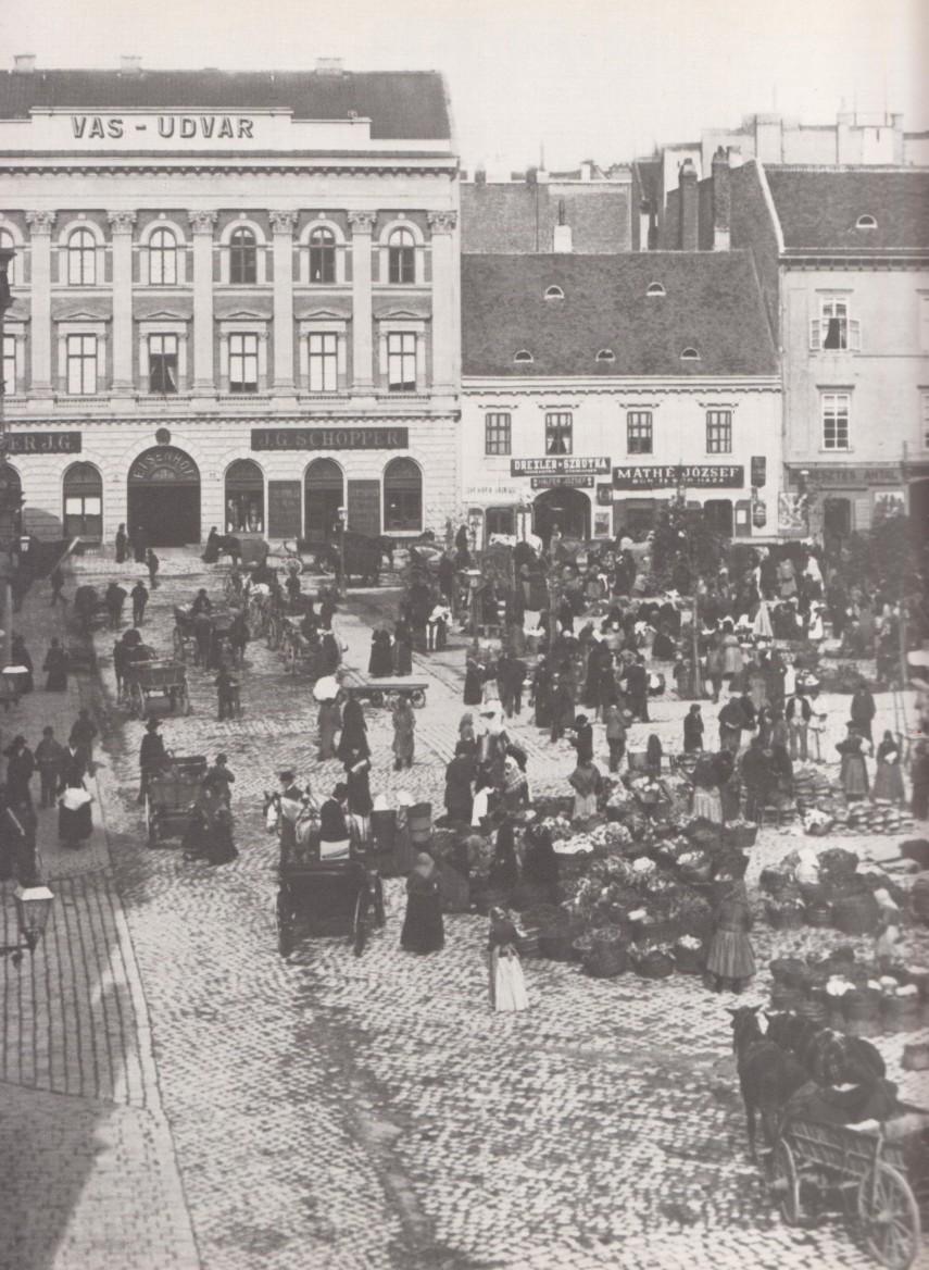 1890-es évek, Kötő (Piarista) utca, 5. kerület